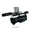 Alternate view 2 for Lumiere 20W Dual 3200K Camcorder Lighting Kit