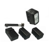 Alternate view 7 for Lumiere 20W Dual 3200K Camcorder Lighting Kit