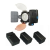 Alternate view 4 for Lumiere Digital Camera & Camcorder Lighting Kit