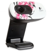 Alternate view 3 for Logitech C270 960-000819 Floral Spiral Webcam