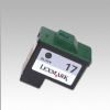 Alternate view 2 for Lexmark  # 17 10N0217 Black Ink Cartridge