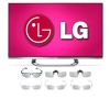 "Alternate view 2 for LG 47"" WiFi 3D LED TV & 12 Pair of 3D Glasses"