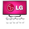 Alternate view 2 for LG 47&quot; WiFi 3D LED TV &amp; 12 Pairs of 3D Glasses
