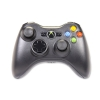 Alternate view 7 for Microsoft Xbox 360 Wireless Black Controller