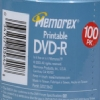 Alternate view 6 for Memorex 05642 100 Pack 16X Printable DVD-R Spindle