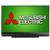 "Alternate view 3 for Mitsubishi 73"" Class DLP 3D HDTV"
