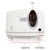 Alternate view 7 for Mitsubishi 1080p Short-Throw DLP Projector