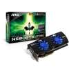 Alternate view 2 for MSI GeForce GTX 580 Lightning Xtreme 3GB PCIe 2.0