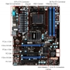 Alternate view 7 for MSI 970A-G46 AMD 125W QUAD CORE Bundle