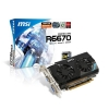 Alternate view 3 for MSI Radeon HD 6670 1GB GDDR5 PCIe 2.1 Video Card