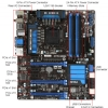 Alternate view 5 for MSI Z77A-GD65 Intel 7 Series Z77 Motherboard
