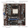 Alternate view 5 for MSI FM1 AMD A55 Motherboard