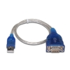Alternate view 2 for Sabrent 1ft USB 2.0 to DB9 Cable Adapter - Blue