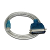 Alternate view 3 for Sabrent USB 2.0 Parallel Printer Adapter Cbl - 6ft