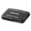Alternate view 2 for Sabrent 68-in-1 USB 2.0 External Card Reader & Wri