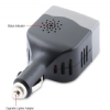 Alternate view 3 for Sabrent 100W Car 12V DC to 110V AC Power Inverter