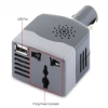 Alternate view 4 for Sabrent 100W Car 12V DC to 110V AC Power Inverter