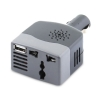 Alternate view 5 for Sabrent 100W Car 12V DC to 110V AC Power Inverter