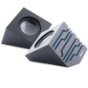 Alternate view 2 for 3.5mm Audio/USB 2.0 Speakerw/LED Lights - Black