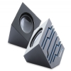 Alternate view 3 for 3.5mm Audio/USB 2.0 Speakerw/LED Lights - Black