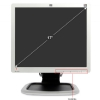 "Alternate view 5 for HP L1750 17"" Class Widescreen LCD Monitor"