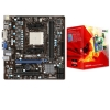 Alternate view 2 for MSI FM1 AMD A55 Motherboard Bundle