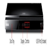 Alternate view 7 for Samsung BD-D5700 WiFi BD-Live Blu-ray Player Rb