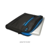 Alternate view 5 for Altego Coated Canvas Cyan Series Laptop Sleeve