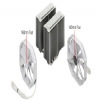 Alternate view 5 for Phanteks Dual Heat Pipe Multi-Socket CPU Fan White