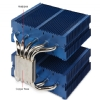 Alternate view 7 for Phanteks Dual Heat Pipe Multi-Socket CPU Fan Blue