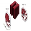 Alternate view 5 for Phanteks Dual Heat Pipe Multi-Socket CPU Fan Red