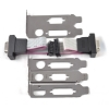 Alternate view 2 for XFX MA-BK01-LP1K Low Profile Bracket Kit