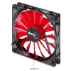 Alternate view 3 for AeroCool 140mm Devil Red Edition LED Case Fan