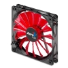 Alternate view 2 for AeroCool 140mm Devil Red Edition LED Case Fan