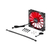 Alternate view 4 for AeroCool 140mm Devil Red Edition LED Case Fan