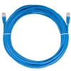 Alternate view 5 for Raygo 25ft Cat5e 350MHz Snagless Patch Cable Blue