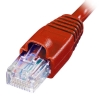 Alternate view 4 for Raygo 75ft Cat5e 350MHz Snagless Patch Cable Red