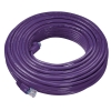 Alternate view 2 for Raygo 75ft Cat5e 350MHz Snagless Patch Cbl Purple
