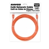 Alternate view 4 for Raygo 14ft Cat6 Snagless Crossover Cable Orange