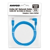 Alternate view 4 for Raygo 7ft Cat5e 90 Degree Snagless Patch Cbl Blue