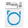 Alternate view 5 for Raygo 7ft Cat5e 90 Degree Snagless Patch Cbl Blue