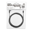 Alternate view 5 for Raygo 14ft Cat5e 90 Degree Snagless Patch Cbl Blk