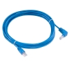 Alternate view 2 for Raygo 14ft Cat5e 90 Degree Snagless Patch Cbl Blue