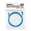 Alternate view 4 for Raygo 14ft Cat5e 90 Degree Snagless Patch Cbl Blue