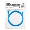 Alternate view 5 for Raygo 14ft Cat5e 90 Degree Snagless Patch Cbl Blue
