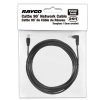 Alternate view 4 for Raygo 25ft Cat5e 90 Degree Snagless Patch Cbl Blk
