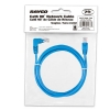 Alternate view 5 for Raygo 7ft Cat6 90 Degree Snagless Patch Cbl Blue