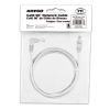 Alternate view 5 for Raygo 7ft Cat6 90 Degree Snagless Patch Cbl Gray