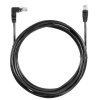Alternate view 3 for Raygo 14ft Cat6 90 Degree Snagless Patch Cbl Black