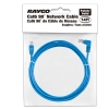 Alternate view 4 for Raygo 14ft Cat6 90 Degree Snagless Patch Cbl Blue